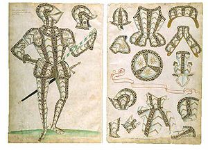 Accession Day tilt - The Greenwich garniture of Sir Henry Lee, in the Jacob Album