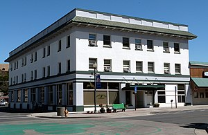 National Register of Historic Places listings in Morrow County, Oregon - Image: Heppner Hotel Heppner Oregon
