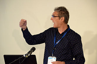 Herbert Van de Sompel - Herbert Van de Sompel speaking at the Evolving Scholarly Record and Evolving Stewardship Ecosystem workshop in Amsterdam