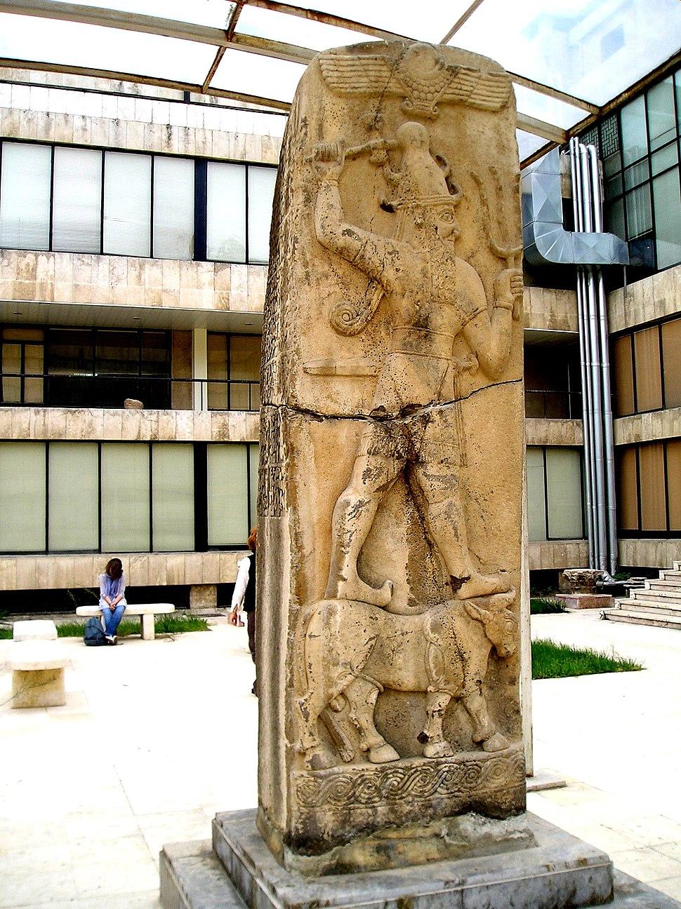 Hetite God in Aleppo