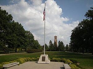Hibbs flagpole.JPG
