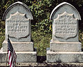 Hickman (Peter and Abigail), Bethany Cemetery, 2015-08-30, 01.jpg