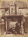Hill & Adamson (Scottish, active 1843 - 1848) - (Greyfriars' Churchyard, the Dennistoun Monument with D. O. Hill and His Nieces) - Google Art Project.jpg