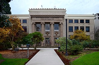 Washington County, Oregon - Image: Hillsboro, Oregon Washington County Courthouse