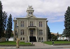Columbia County, Washington - Image: Historic Courthouse Dayton Washington