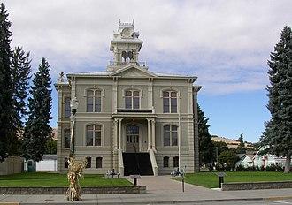 Dayton, Washington - Columbia County Courthouse in Dayton