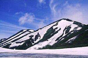 Mount Hiuchi - Image: Hiuchiyama from Tengunoniwa 1996 6 29