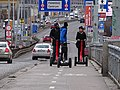 Hlávkův most, segwaye.jpg