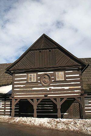 Václav Hanka - Wooden inn from about 1720 where Hanka was born