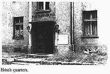 Ufficio di Höß a Auschwitz