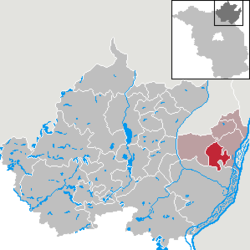 Hohenselchow-Groß Pinnow – Mappa