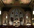 Holy Cross Catholic Church (Columbus, Ohio) - nave with Christmas decoration.jpg
