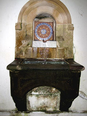 Holy Well, Malvern - The Holy Well spout