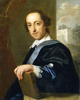 Horace Walpole - Horace Walpole by John Giles Eccardt, circa 1755.