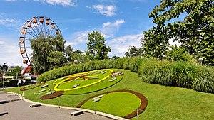 Horloge Fleurie au Quai du Général-Guisan (Jardin Anglais) Genève