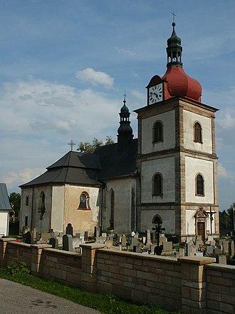 Horní Branná - Saint Nicholas Church