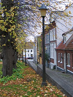Horsens Place in Mid Jutland, Denmark