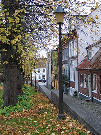 Horsens - Street in the old town