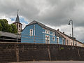 Hostert, kerktoren (église Saint-Jean-Baptiste) in straatzicht foto5 2014-06-14 11.50.jpg
