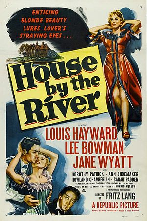 House by the River - Theatrical release poster