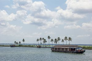 Alappuzha - A Houseboat in Alleppey