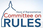 Logo of the United States House Committee on Rules