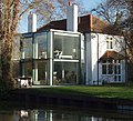 House by canal with modern extension - geograph.org.uk - 664525.jpg