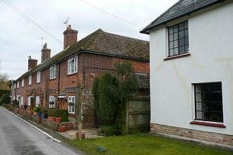 Popham, Hampshire - Image: Houses at Popham geograph.org.uk 1772222
