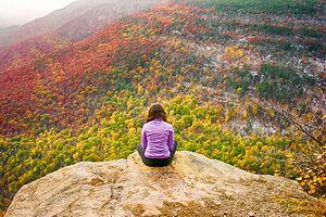 Kaaterskill High Peak - A view from Huckleberry point.