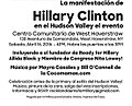 Hudson Valley Rally & Family Fest for Hillary Clinton 12963417 1745272909038233 7934589935733266116 n.jpg