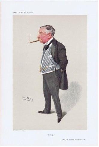 Hugh McCalmont - Sir Hugh McCalmont