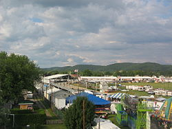 The Lycoming County Fair in Hughesville