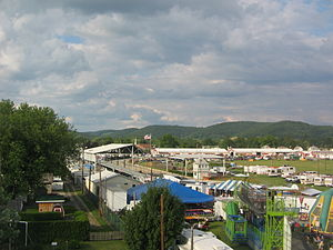 Hughesville, Pennsylvania - The Lycoming County Fair in Hughesville