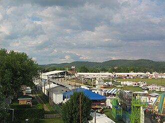 Hughesville, Pennsylvania - The Lycoming County Fair in Hughesville
