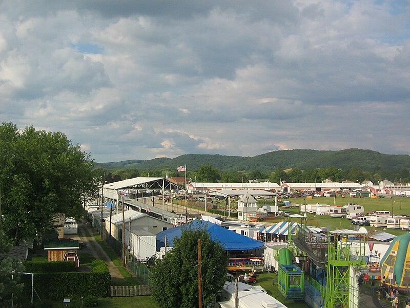 File:Hughesville Pennsylvania Fair.jpg