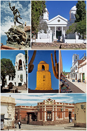 Humahuaca - Image: Humahuaca City Montage