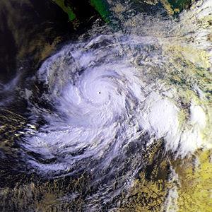 Hurricane Juliette (2001) - Image: Hurricane Juliette 25 sept 2001 1407Z