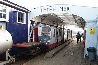 Hythe Pier, Railway and Ferry - The pier head station