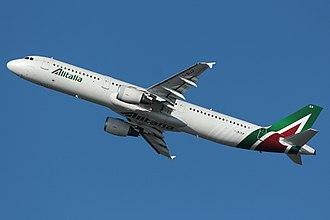 Alitalia - Alitalia Airbus A321-100