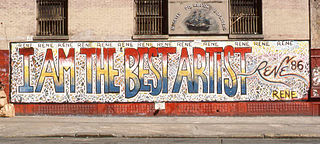 ルネ・モンカーダ:I AM THE BEST ARTIST、ニューヨーク(1986)