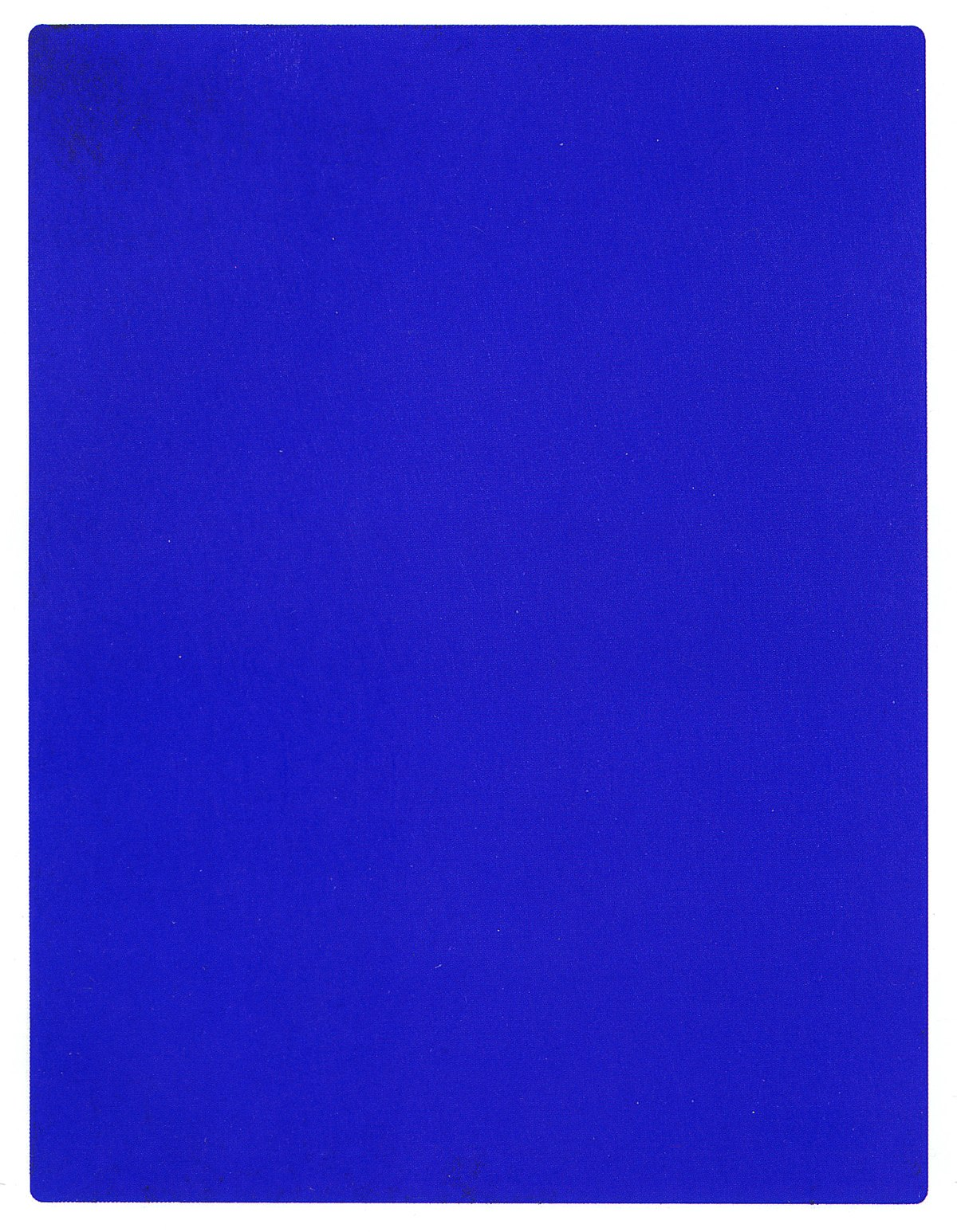 international klein blue wikipedia. Black Bedroom Furniture Sets. Home Design Ideas