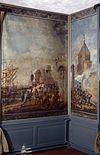 interieur, bovenkamer, geschilderd behang, panelen - nieuwenhoorn - 20264317 - rce