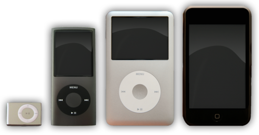 Många iPod-modeller