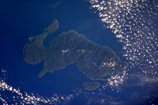 Nendo Island the largest of the Santa Cruz Islands, in the Temotu province of the Solomon Islands