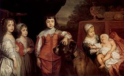 Anthony van Dyck: Five Eldest Children of Charles I