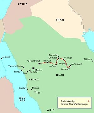 Najd - Najd was the next step after Hijaz in the campaigns of the Nejd Expedition.