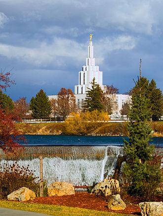 Ramm Hansen - Image: Idaho Falls Temple