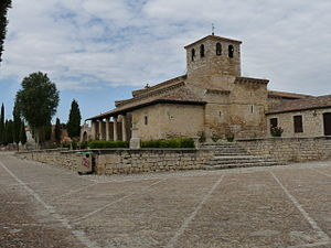 Wamba, Valladolid - Another view of St. Mary's Church
