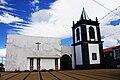 Igreja de Santa Bárbara (cedros), fachada, Cedros, concelho da Horta, ilha do Faial, Portugal.JPG