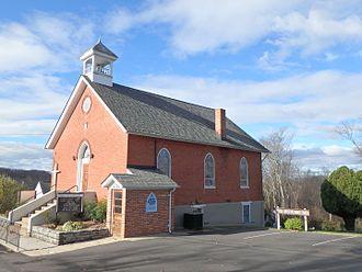 Ijamsville, Maryland - The Ijamsville church as it looks today